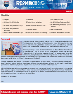 RE/MAX Realty Review - April 2013