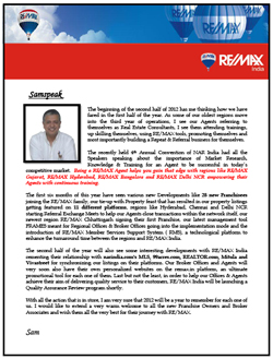 RE/MAX Realty Review April - June 2012