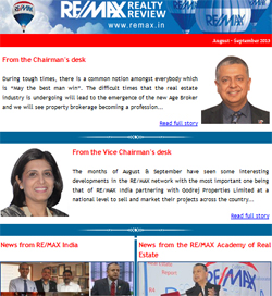 RE/MAX Realty Review August - September 2013
