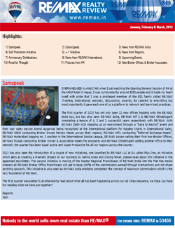 RE/MAX Realty Review January - March 2013