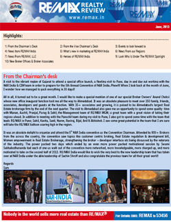 RE/MAX Realty Review - June 2013