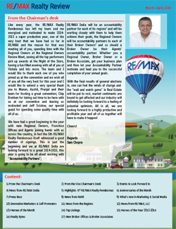 RE/MAX Realty Review March - April 2014