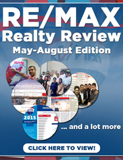 RE/MAX Realty Review May - August 2015