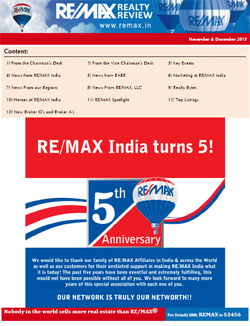 RE/MAX Realty Review November - December 2013