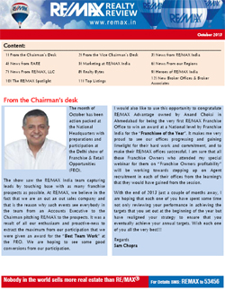 RE/MAX Realty Review - October 2013