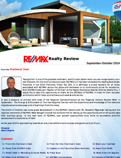 RE/MAX Realty Review September - October 2014